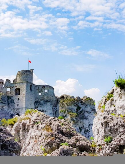 Medieval Castle Ruins Perfect For A Day Trip